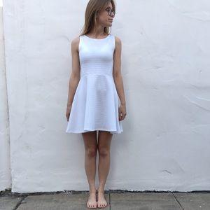 H&M Divided Fit & Flare Midi Dress